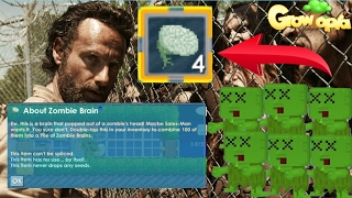 Video Growtopia- HOW TO GET ZOMBIE BRAINS AND NEW ITEMS FAST AND EASY METHOD 2017!!! (MUST WATCH!!) download MP3, 3GP, MP4, WEBM, AVI, FLV Juli 2018