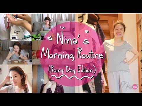 LIFESTYLE    Nina's Morning Routine (Rainy Day Edition)    NinaBeautyWorld - วันที่ 11 Jun 2018