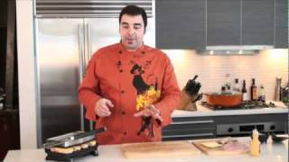 How To Make A Cuban Reuben Panini Sandwich Video Recipe With George Duran & Imusa