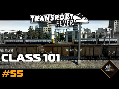 British Rail Class 101 | Transport Fever Gameplay North Atla