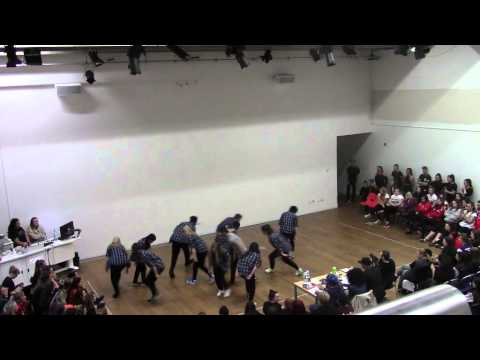 Newcastle University Dance Society-Advanced Street-LJMU Dance Competition 2015