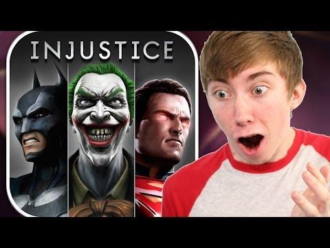 INJUSTICE: GODS AMONG US (iPad Gameplay Video)