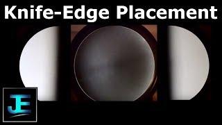 Schlieren Knife-Edge Placement