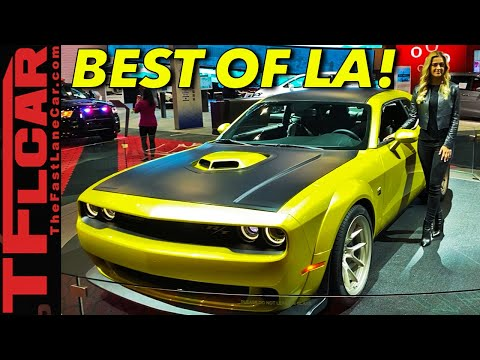 These Are The Coolest Cars From The 2019 LA Auto Show!