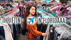 THRIFTING IN FLORIDA + TRY ON | GOODWILL, PLATO'S CLOSET | EP. #10
