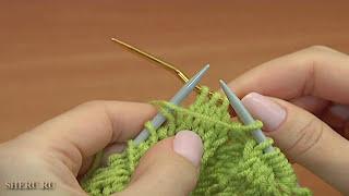 Шапка с косами. Вязание спицами. Урок 99 вязания шапок.