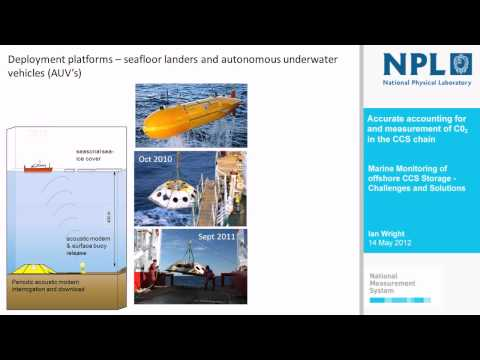 Ian Wright - Marine Monitoring of offshore CCS Storage