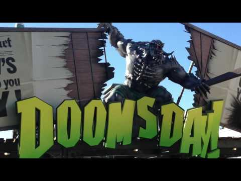 DC Comics Super-Villains Unleashed And Doomsday Destroyer Movie World Australia