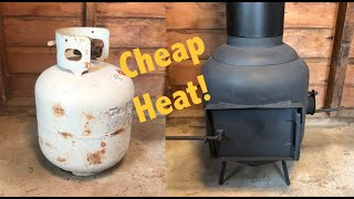 DIY Mini Wood Stove