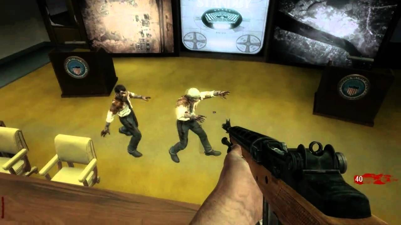 Call Of Duty Black Ops Zombie Map Five Bug Fixed Youtube