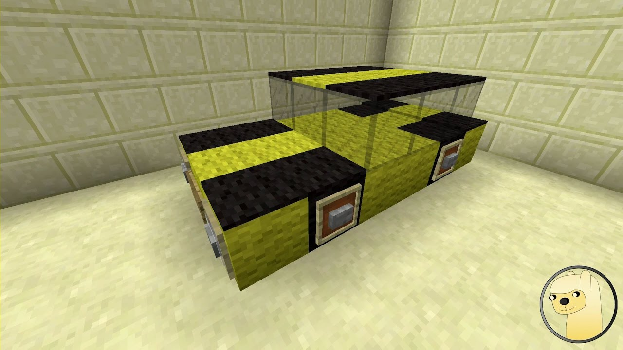 Minecraft  How To Build Transformers 13 Bumblebee  YouTube