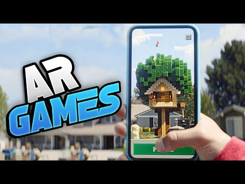 Top 15 New Augmented Reality Games For Android 2020 (AR GAMES)
