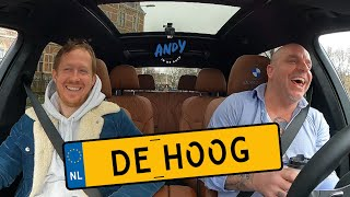 Robert de Hoog (Tatta Mocro Maffia) - Bij Andy in de auto! (English subtitles)
