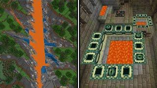 🦅 Minecraft's Coolest Most Unbelievable Seeds...