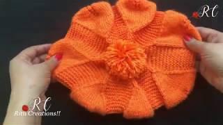 Knitting Cap / Topi Stylish (बहुत ही सुन्दर टोपी आपके लिए ) || बुनाई स्वेटर || Hindi patterns |