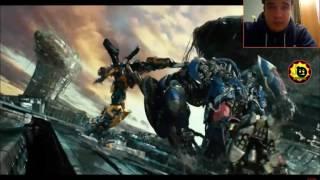 Реакция на Трансформеры 5 Последний Рыцарь трейлеры 1,2. (тизер трейлер это случайно я нашёл)