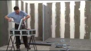 Comment réaliser votre meuble de salle de bains avec les panneaux Construct de WEDI ?
