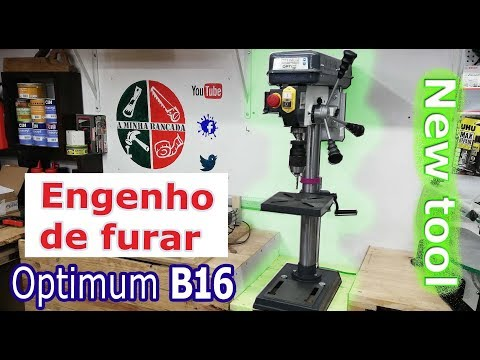 engenho de furar Optimum B16 - Nova ferramenta