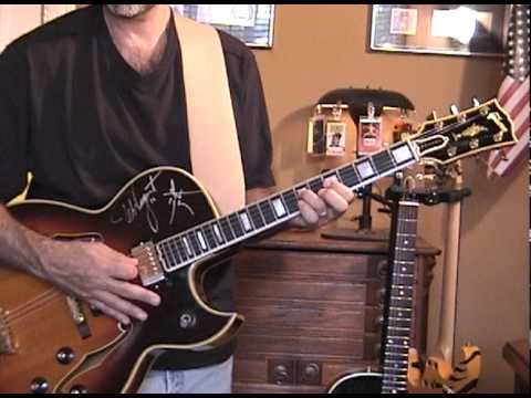 How To Play The Ted Nugent Stranglehold Riff
