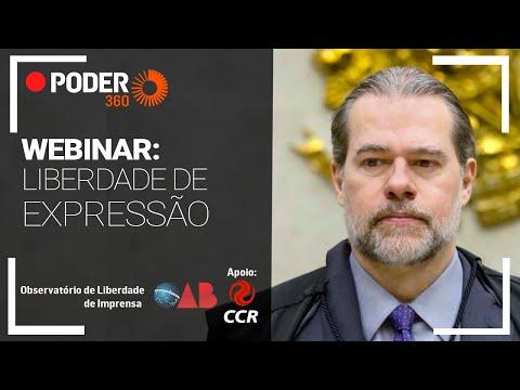 Webinar do Poder360 debate liberdade de expressão