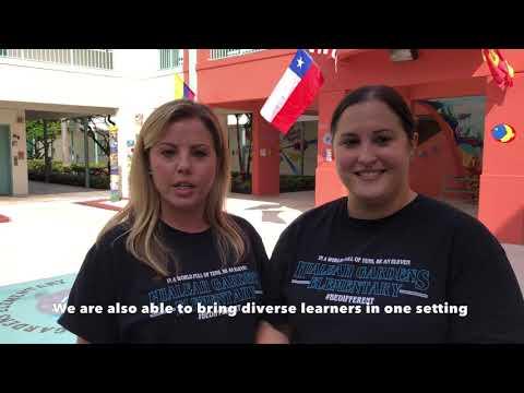 Heather Towne and Erika Gonzalez - Hialeah Gardens Elementary School