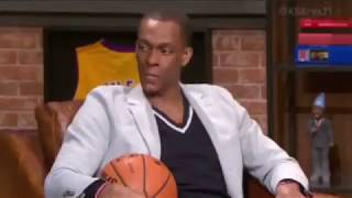Rajon Rondo Interview With Chris Paul after Fight!!!
