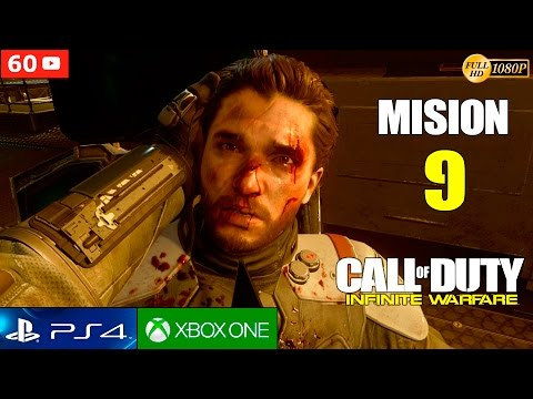 Call of Duty Infinite Warfare Mision 9 Gameplay Español PS4 1080p 60fps   Campaña Walktrough parte 9