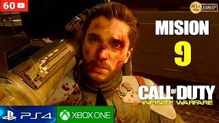 Call of Duty Infinite Warfare Mision 9 Gameplay Español PS4 1080p 60fps | Campaña Walktrough parte 9
