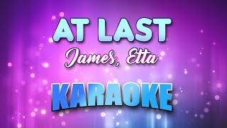 James, Etta - At Last (Karaoke & Lyrics)