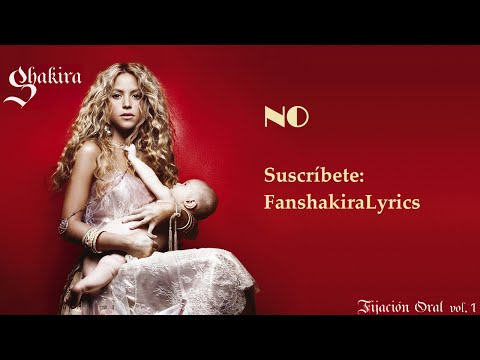 07 Shakira - No (feat. Gustavo Cerati) [Lyrics]
