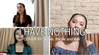 I HAVE NOTHING - Whitney Houston (TRIO COVER)