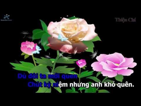 Chút kỷ niệm buồn karaoke Dungleba (song ca với nhớ thương)