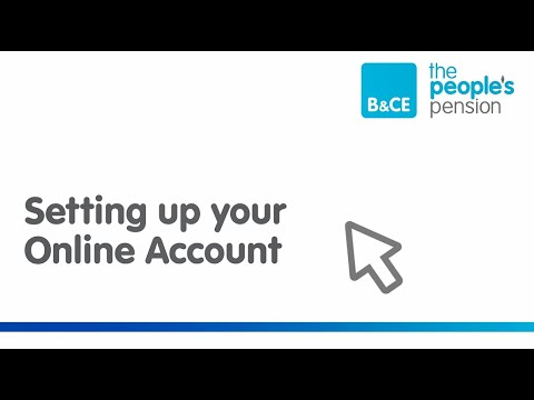 Setting up and resetting your Online Account – The People's Pension