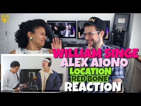 William Singe & Alex Aiono - Location (Khalid) & Red Bone (Childish Gambino) | REACTION