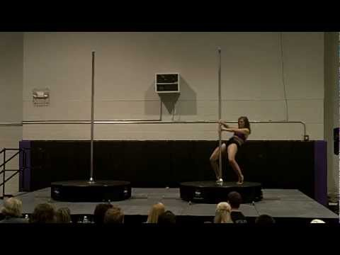 Jennifer McClellan's Performance at Tri-State Pole Fitness Competition 2012 - Instructor