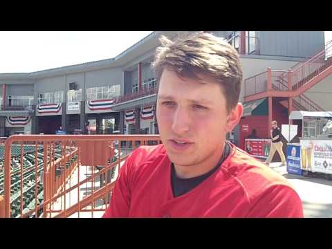 Interview with Tri-City ValleyCats OF/DH Carmen Benedetti - July 2016