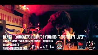BANDX - ( YOU GOTTA ) FIGHT FOR YOUR RIGHT (TO PARTY) COVER LIVE