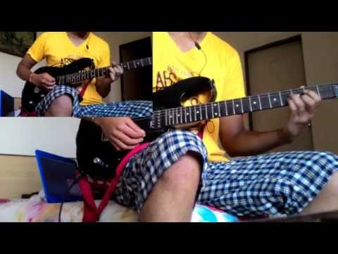 Michael learns to rock-SOMEDAY dual guitar cover(HD)