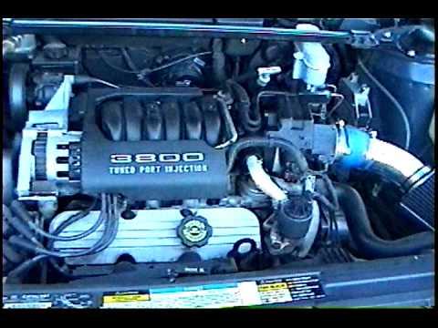 1994 Pontiac Bonneville 3800 series I L27 V6 Exhaust and Cold Air