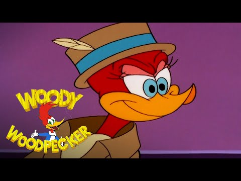 Winnie the Detective | Full Episode | Woody Woodpecker