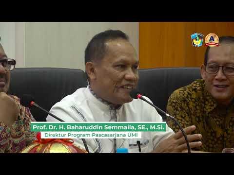 Silaturrahmi Kepala LLDIKTI Wilayah IX Sulawesi Dengan Pascasarjana UMI