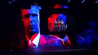Enfoirés 2018, Musique le 20/01 - Le géant de papier - Julien Clerc, Marc Lavoine, Zazie