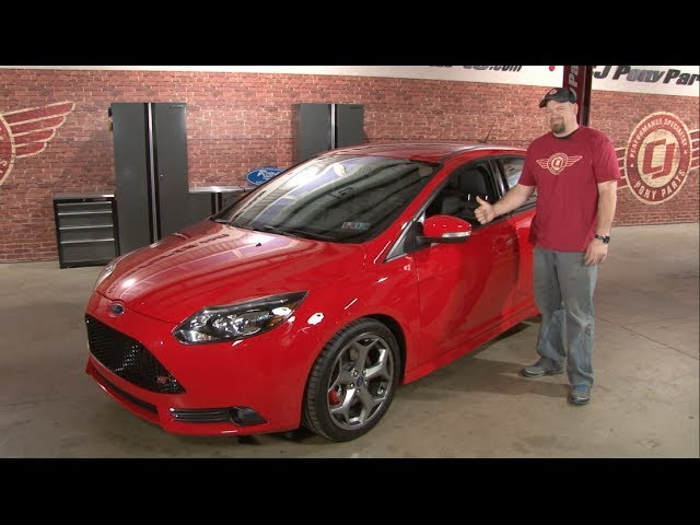 ford focus st parts 2013 2017 focus st performance parts cj pony parts - 2014 Ford Focus St Red