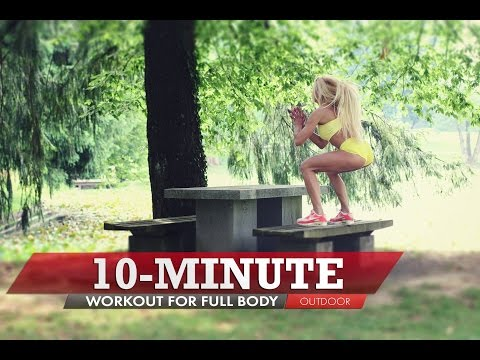 Outdoor Full Body Fitness Workout | 10-Minute