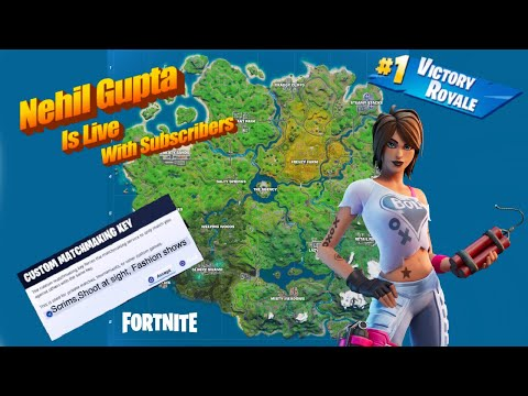 Fortnite India Live|Customs |Fortnite Middle East |!vid !donate !member !sac from YouTube · Duration:  2 hours 46 minutes 54 seconds
