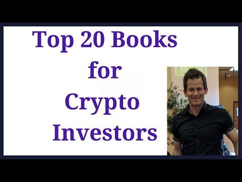 Top 20 Books for Crypto investors.  Books about the history of money, finance, investors, and crypto