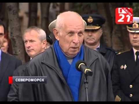 Открытие памятной доски Сафонову Б Ф