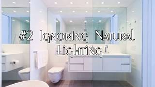 5 Things That Can go Wrong with Bathroom Interior Design