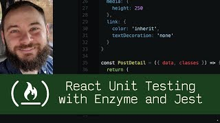 Gambar cover React Unit Testing with Enzyme and Jest (P5D51) - Live Coding with Jesse