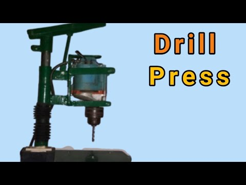 Home Made Drill Press